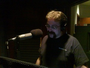 Corey in the Booth