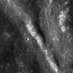 Wrinkle Ridges in Mare Tranquillitatis