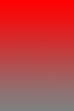 Rectangle with 100% red at top and a gradient to 0% red at bottom.